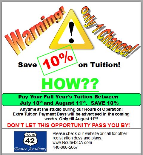 Tuition Savings